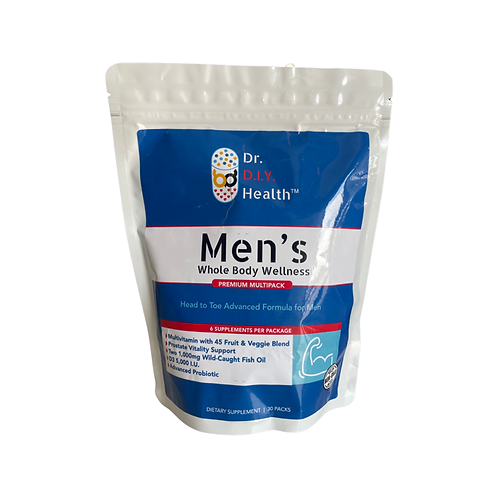 Dr. DIY Health's MEN'S Whole Body Wellness Pack