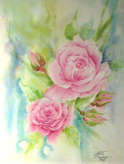 Pink Roses 18x22 150