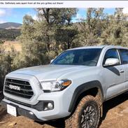 X-Trek Toyota Tacoma Grill Insert Review