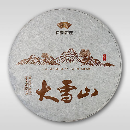 «Пуэр с гор Да Сюэ Шань»