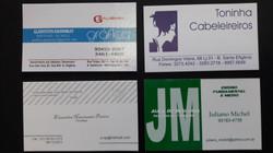 Cartões de visita digital
