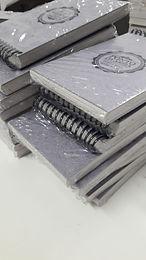 Caderneta Mini-rústico comercial 8 x 13 cm