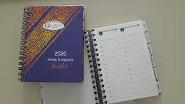Agenda anual 13,5 x 18,5 cm