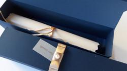 13 Pérola com cordão CS05 + Caixa 13 Por