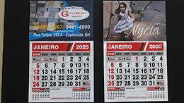 Lembrança / Calendário de parede 15 x 15 cm