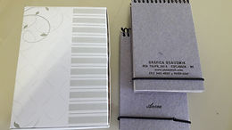 Caderneta Mini-rústico Individual 8 x 13 cm