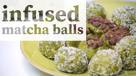 Matcha Balls weedfeed how to edibles mat