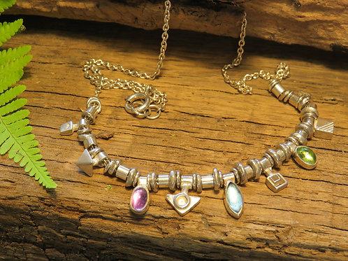 Allegra gemdrop necklace