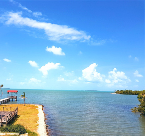 Sunny afternoon at See Belize Vacation Rentals