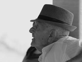 WIJN MET EEN RIETJE ode aan mijn opa met dementie