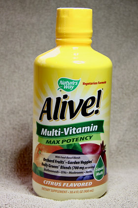 Alive! MAX Potency Liquid