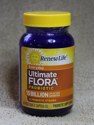 Ultimate Flora Everyday Probiotic 15 Billion