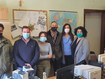 Σ.Ε.Θ. - Μάσκες και αντισηπτικά στην Κτηνιατρική και Φυτοπαθολογική υπηρεσία.