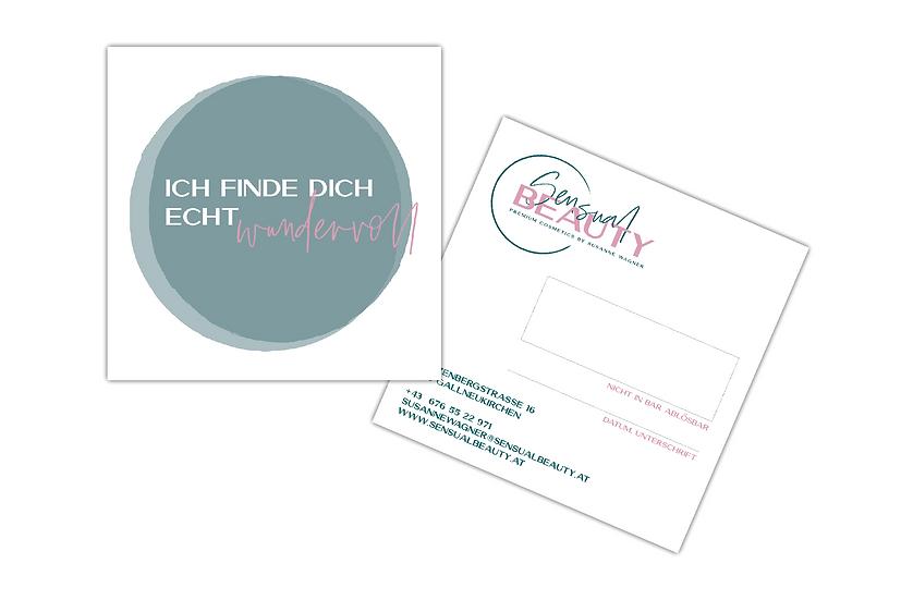 Sensual Beauty Gutschein im Wert von € 50