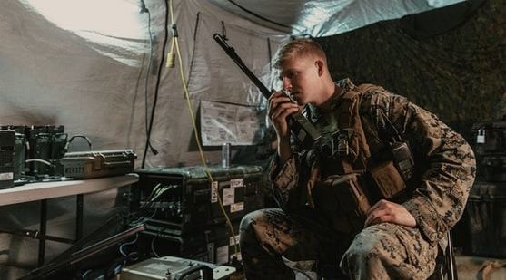 The military is adept at tactical communications