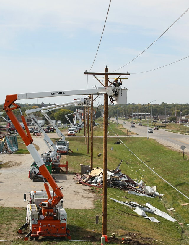 Emergency back up communication must function when infrastructure fails.