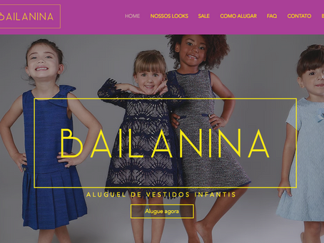 Mãe cria site de aluguel de roupa infantil com grife para festas
