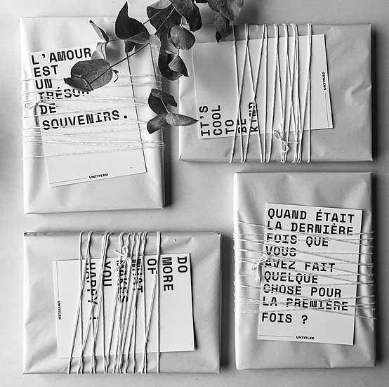 Le carnet - Pack de 4