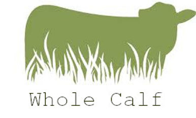 Whole Grassfed Calf on the hoof, per pound