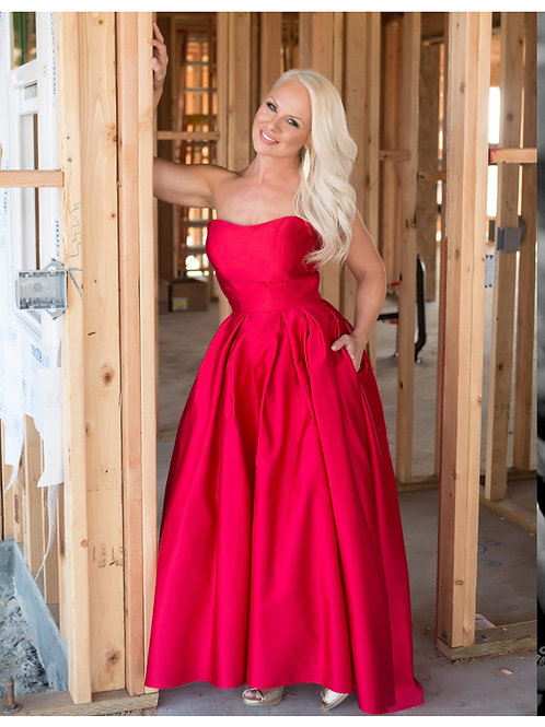 Promo 21 Red Dress