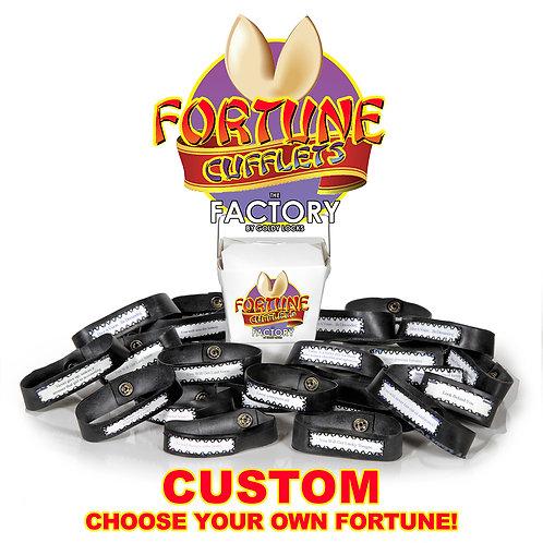 CUSTOM Fortune Cookie Cuffs