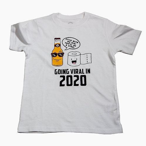 Corona Kid's T Shirt White
