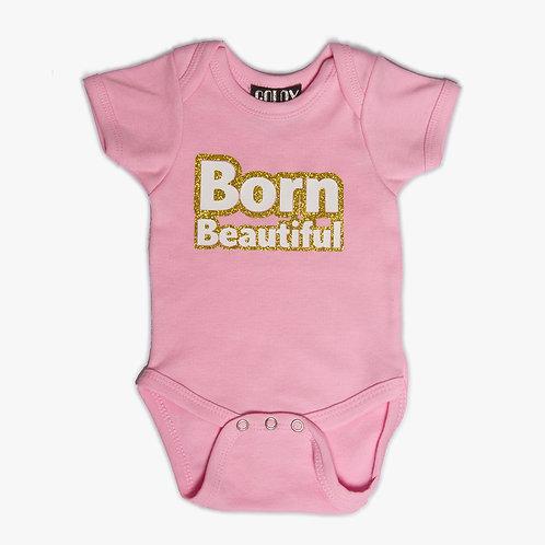 Born Beautiful Onesie