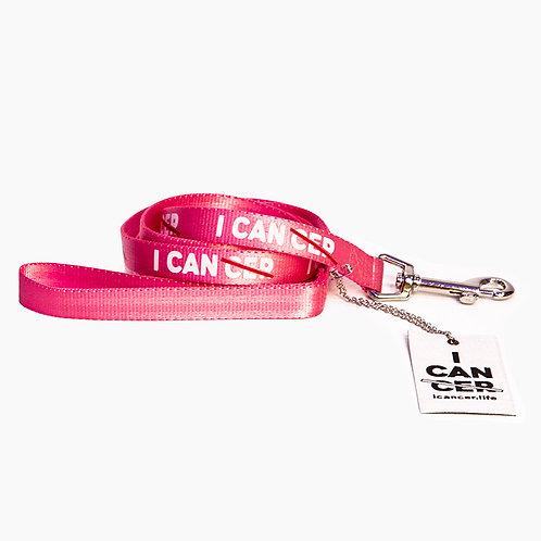 I CAN (CER) Dog Leash Pink
