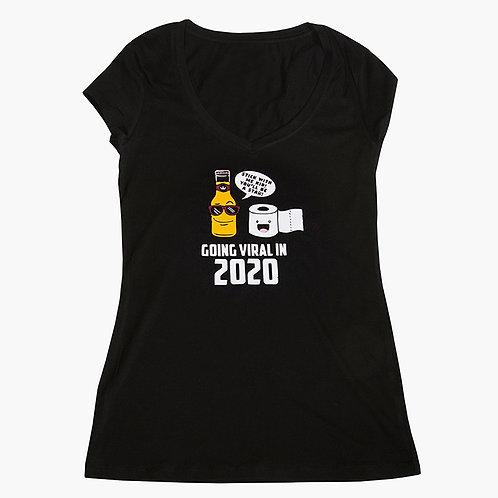 Corona Women's T Shirt Black