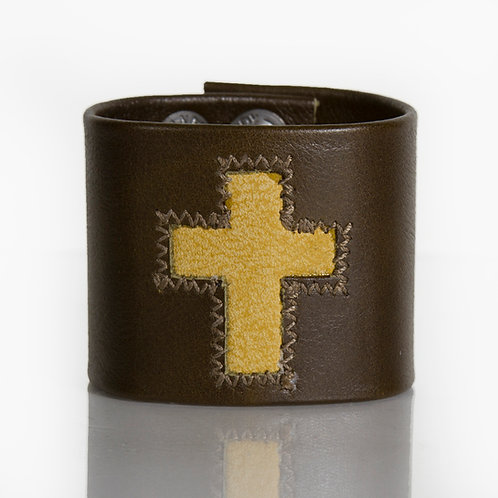 Camel Cross on Brown