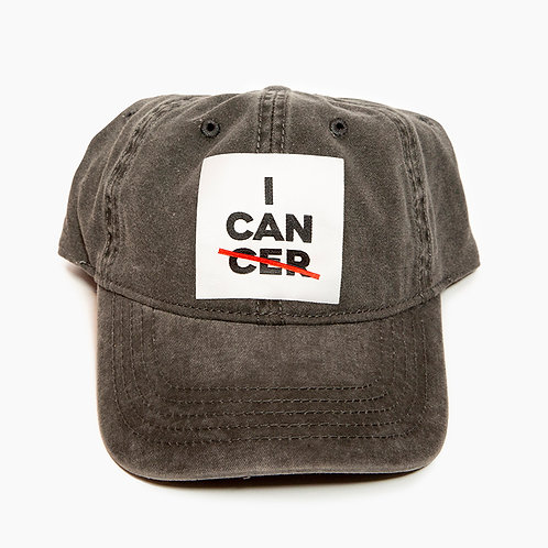 I CAN (CER) Ball Hat Grey