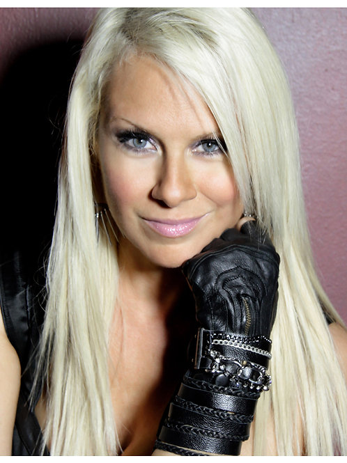 Promo 19 Black Leather Glove Headshot