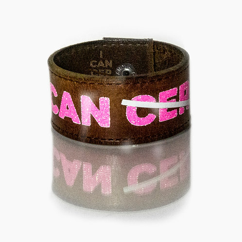 I CAN (CER) Vintage Cuff Brown