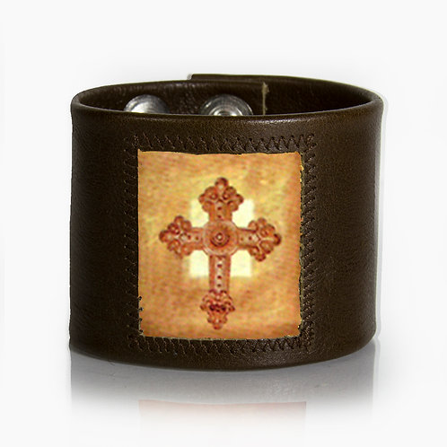 Rustic Cross Cuff
