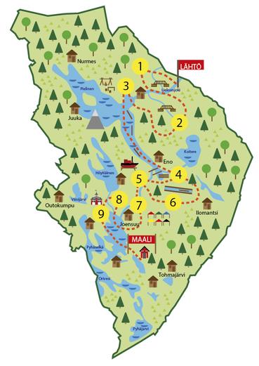 Kartta Uittopeliin