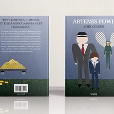 Artemis Fowl - kirjankansi