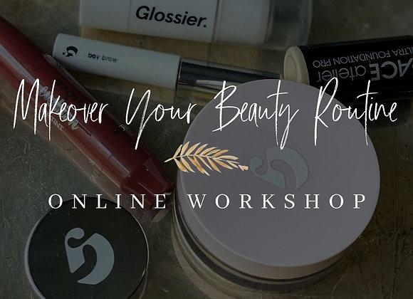 Makeover Your Beauty Regimen Virtual Workshop