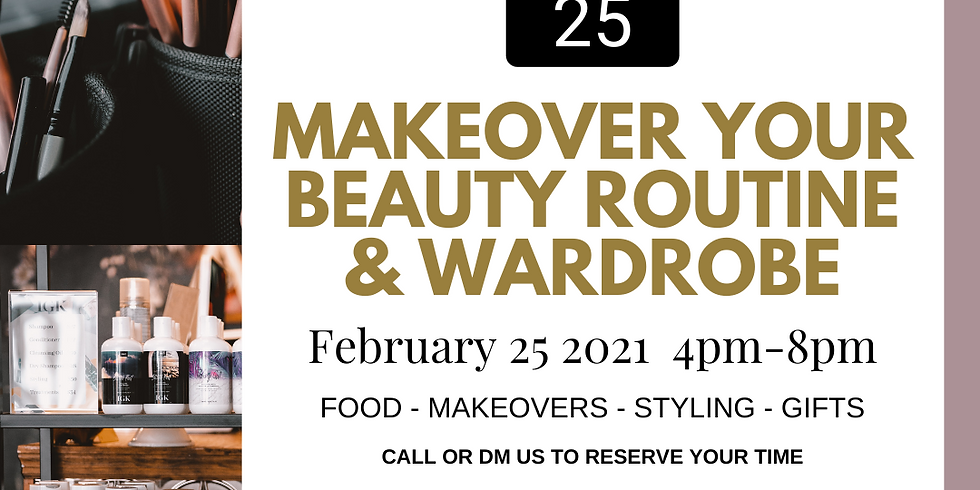 Makeover Your Beauty Routine + Wardrobe