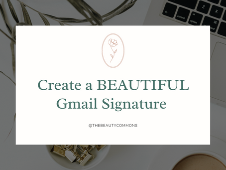 How to Create a Professional Email Signature (3 Steps)