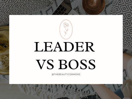 """From Brittany - Tips to be a Leader instead of a """"Boss""""!"""