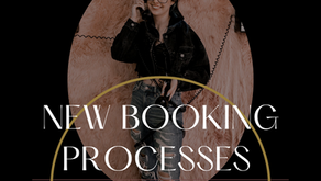 NEW Booking Process and NEW CLIENT Color & Extensions Applications!