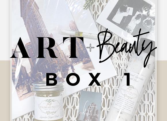 Art + Beauty Box 1