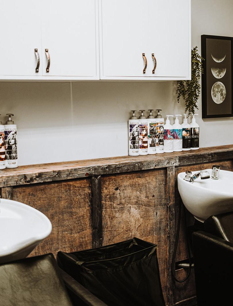 Private Shampoo Room