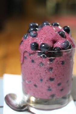 A Berry Yoghurt Pot
