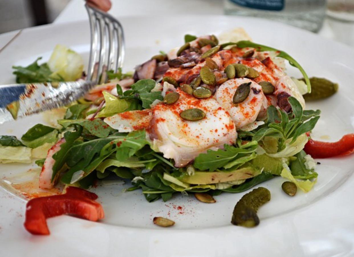 Cod Salad Delight