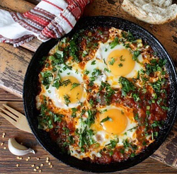 Sauté Tomatoes and Eggs