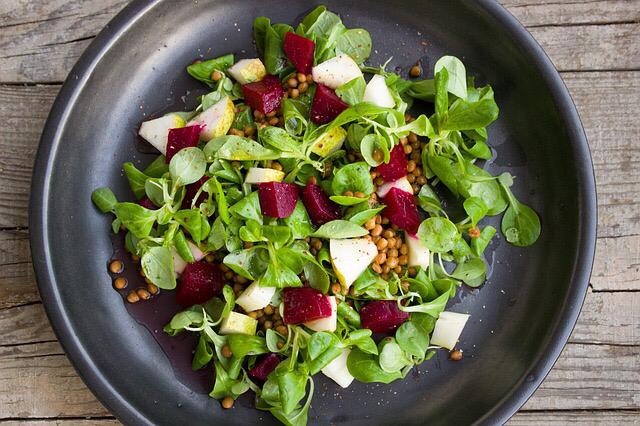 Lambs Lettuce Salad