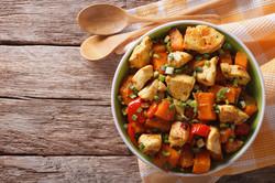 Chicken Turmeric Hot pot