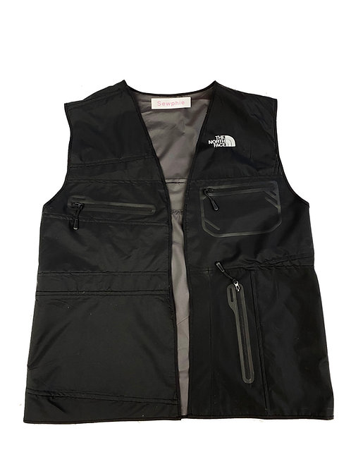North Face Reworked Vest