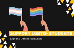 Support LGBTQ+ Students